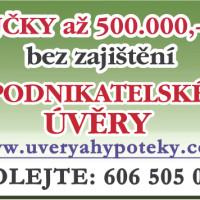 Půjčka až 500 000 Kč bez ručení a zástavy